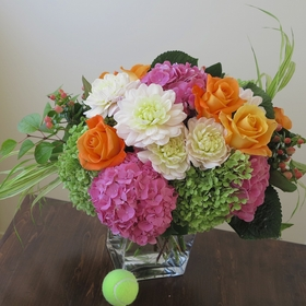 Pink Fall Bouquet