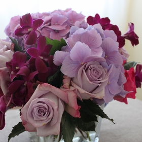 Purple & Mauve Bouquets