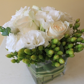 White & Cream Bouquets