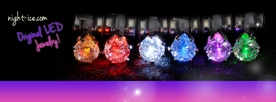Flashing LED Earrings: 6 pairs!