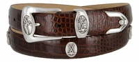 Birmingham Men's Italian Leather Golf Belt