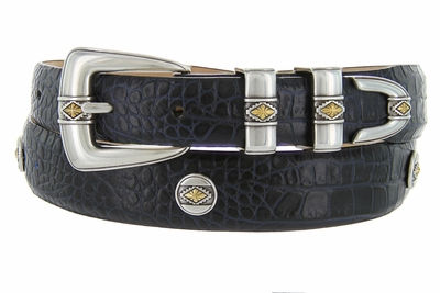 Golden Diamond Men's Designer Golf Belt