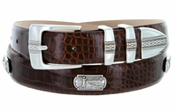 Golf of Scottsdale Men's Leather Golf Conchos Belt