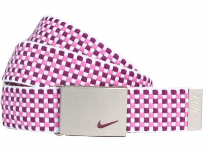 Nike Golf Sport Women's Web Belt <br>Bright Grape/Red Violet <br>13090265