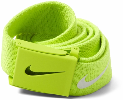 Nike Tech Essentials Web Belt <br>Yellow Strike<br>1111394