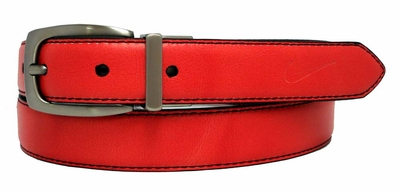 Nike Women's Reversible Belt Red/Black 1303273