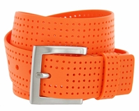 3301500 PGA TOUR Silicone Perforated Golf Belt - Orange