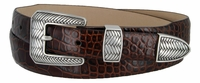 Pueblo Men's Leather Dress Golf Belt