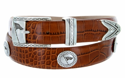 Tournament Leather Golf Belt