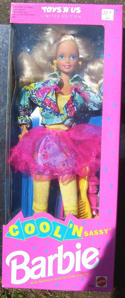 Cool Toys From Toys R Us : Cool n sassy barbie toys r us exclusive
