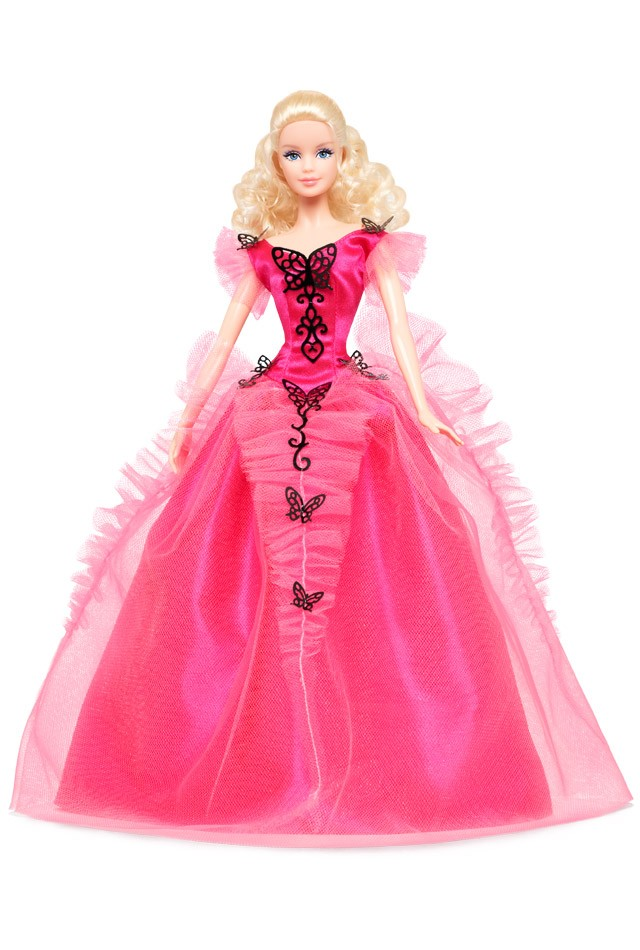2014 Butterfly Glamour Barbie Doll Club Exclusive X8270