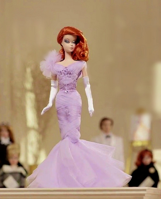 2015 Lavender Luxe Barbie® Doll CGT28 ROBERT BEST SILKSTONE