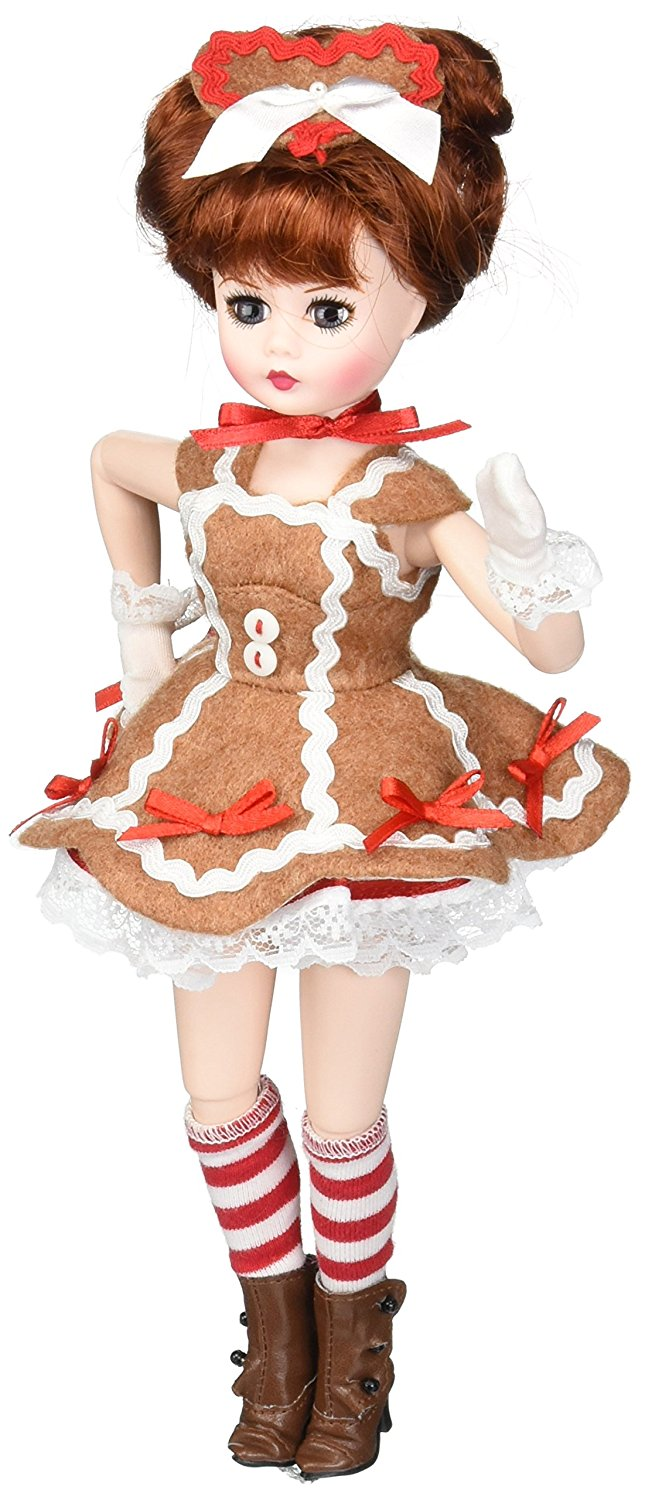 71275 madame alexander gingerbread coquette 10 holiday dol - Madame coquette ...