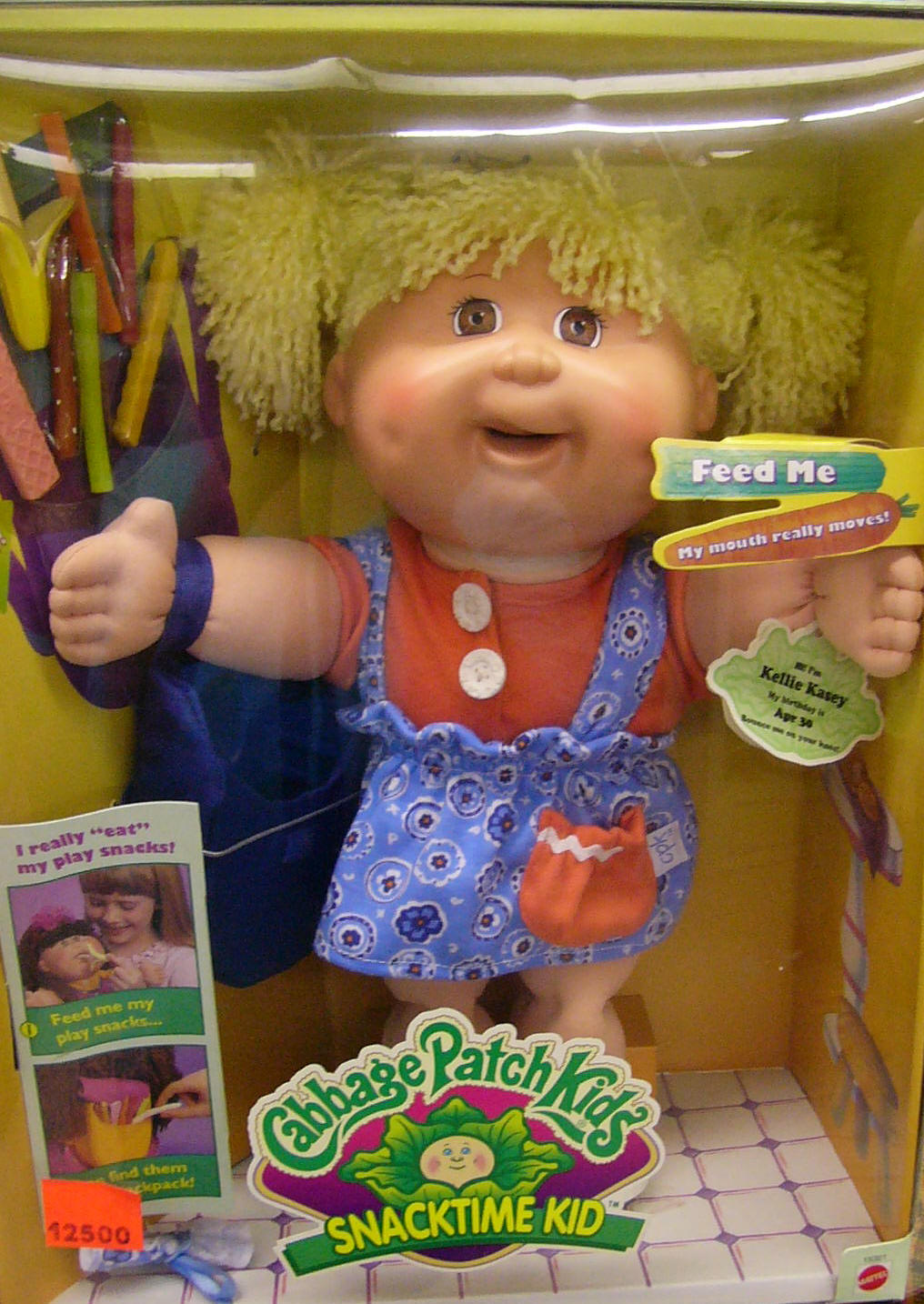 Cabbage Patch Snacktime Kids Mint In Box Recalled Kellie Kasey Sold Out