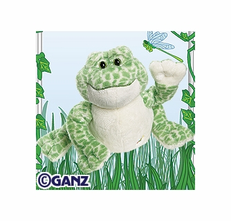 spotted frog webkinz internet interactive