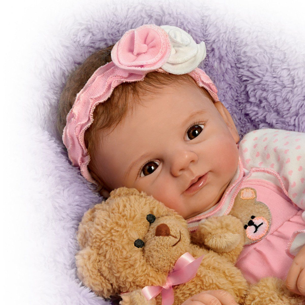 unbearably cute! doll violet parker so truly real baby doll with