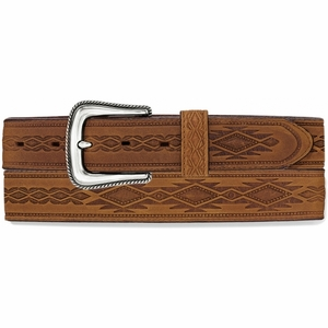 Navajo Blanket Tooled Belt