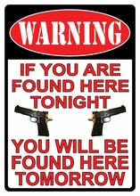 Warning You're Found