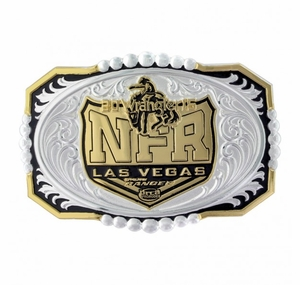 2015 WNFR Buckle