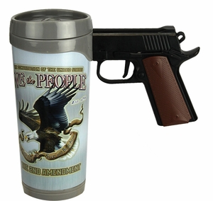 We the People Pistol Mug
