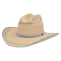 Alamo Blue Palm Hat