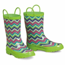 Chevron Rubber Boots