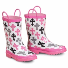 Cross Rubber Boots