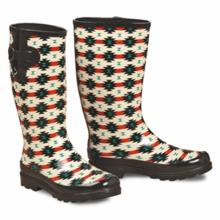 Tribal Rubber Boots