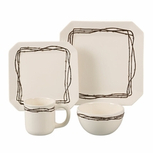 Barbwire Dinnerware Set