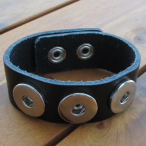 Three Snap Cuff Bracelet