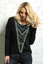 Cruel Tribal Jersey Top