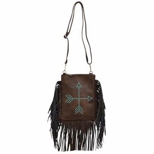 Arrows & Fringe Crossbody