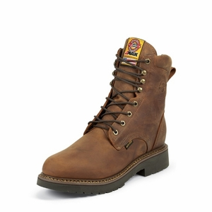 Justin JMax Waterproof Lace Up