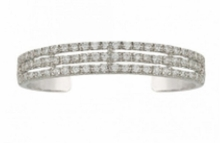 Triple the Delight Cuff Bracelet