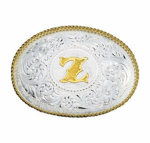 Montana Silversmiths Initial Buckle
