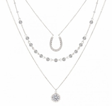 Fortune's Snowflake Layered Necklace