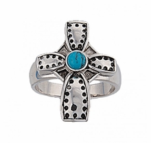 Desert Faith Cross Ring