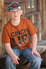 Cinch Crew Neck Tee