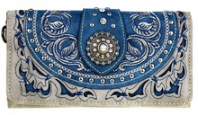 Montana West Concho Wallet