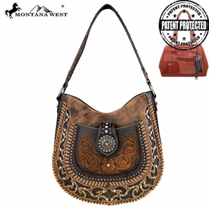 Conceal Carry Hobo Bag