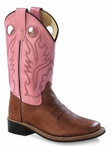Old West Square Toe Boots