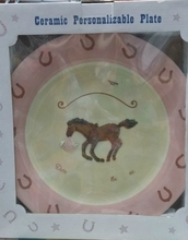 Personalizable Baby Plate
