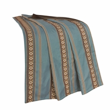 Ruidoso Turquoise Throw
