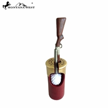 Shotgun Shell Toilet Brush Holder