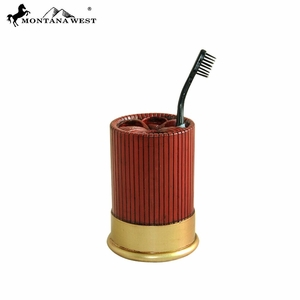 Shotgun Shell Toothbrush Holder