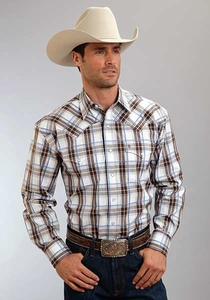 Stetson Blue Springs Plaid