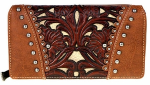 Tooled Secretary Wallet