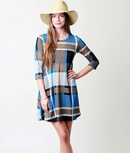 Plaid Pocket Dress
