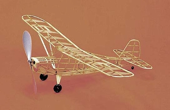 Aeronca Champ #203 Herr Balsa Wood Model Airplane Kit Rubber Powered