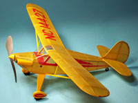 Aeronca Chief 1939 (LASER CUT) #FF21 Easy Built Models Balsa Wood Model Airplane Kit Rubber Powered